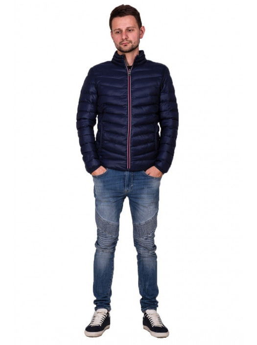 Демисезонная куртка синяя FC1_4567