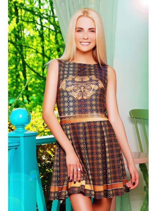 Золото платье Мия-1 б/р psФР-00001502_000008371