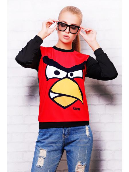 Angry Birds кофта Свитшот №2 (весна) д/р