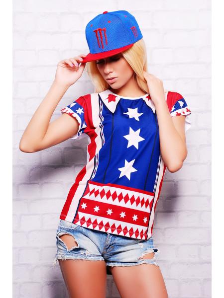 Америка футболка Кимоно