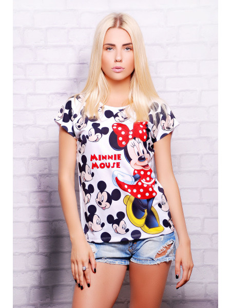 Minnie Mouse футболка Кимоно