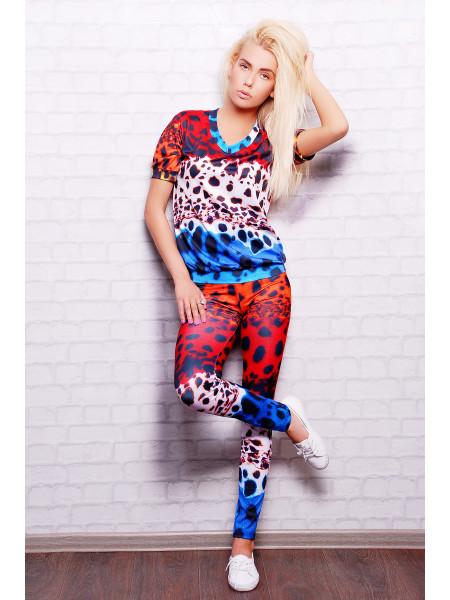 Разноцветный леопард Костюм Леся1