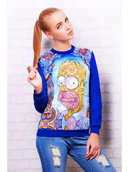 Simpsons кофта Свитшот №2 (весна) д/р