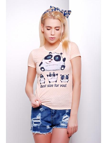 Size panda Футболка-1В