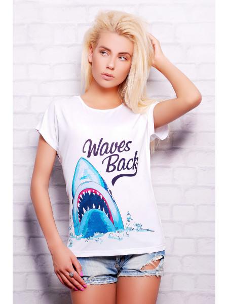 Акула футболка Кимоно